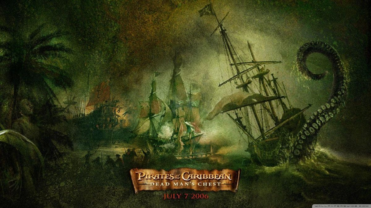 Dead Man's Chest Pirates Of The Caribbean HD desktop wallpaper …