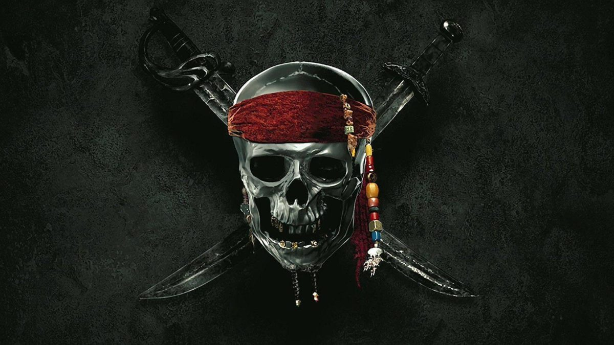 Pirates Of The Caribbean Skull Wallpaper