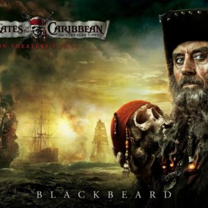 download Blackbeard from Pirates of the Caribbean Desktop Wallpaper
