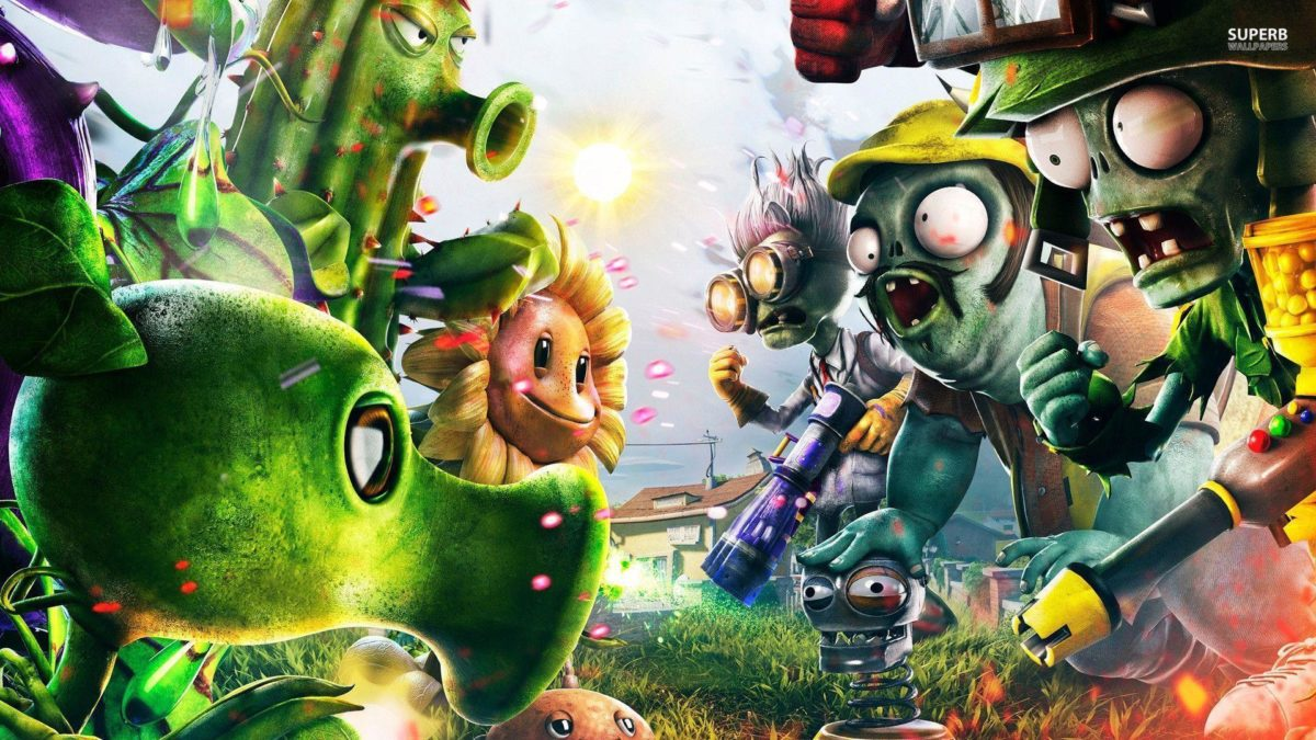 Plants vs. Zombies: Garden Warfare wallpaper – Game wallpapers – #