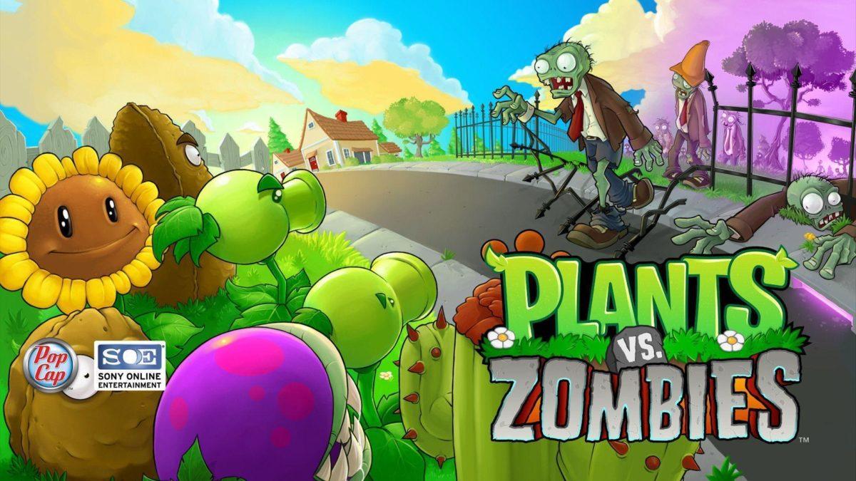 Fond ecran, wallpaper Plants vs. Zombies – JeuxVideo.