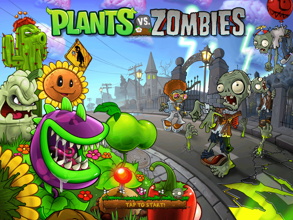 wallpaper: Plants Vs Zombies Hd Wallpaper