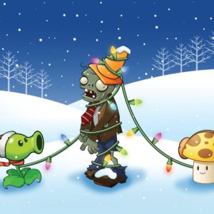 download Would you like a Plants vs. Zombies Christmas wallpaper? – Ironhammers