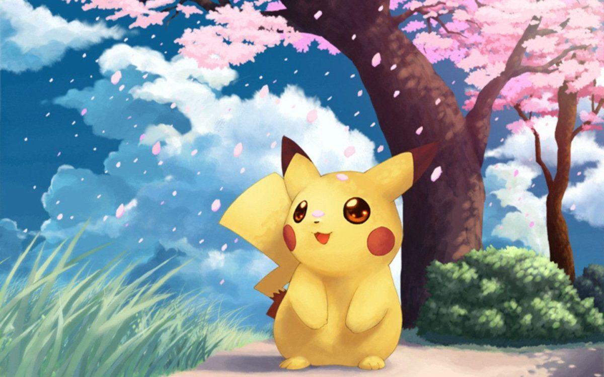 Download Pokemon Art Wallpaper 1440×900 | Full HD Wallpapers