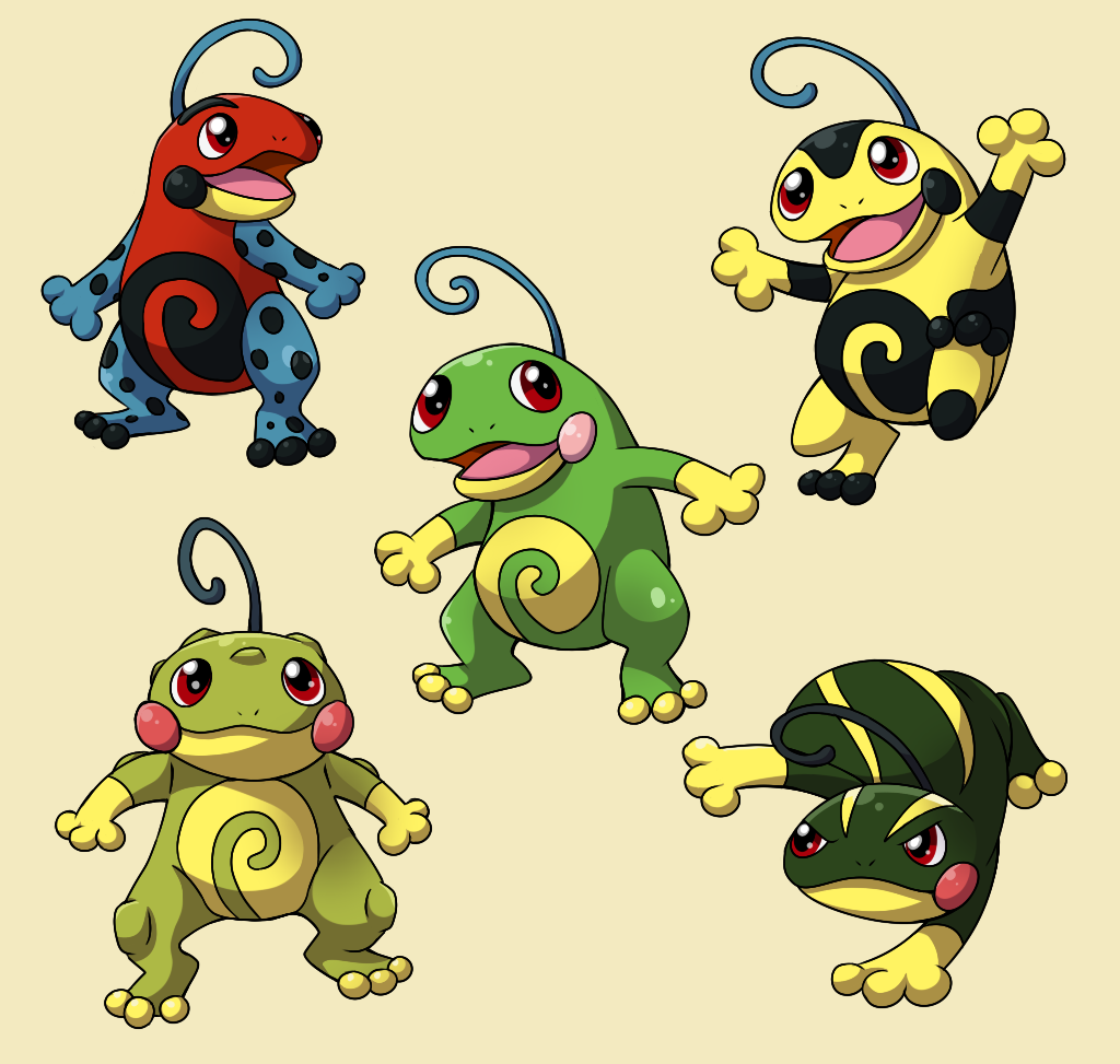 PokemonSubspecies: Politoed by CoolPikachu29 on DeviantArt