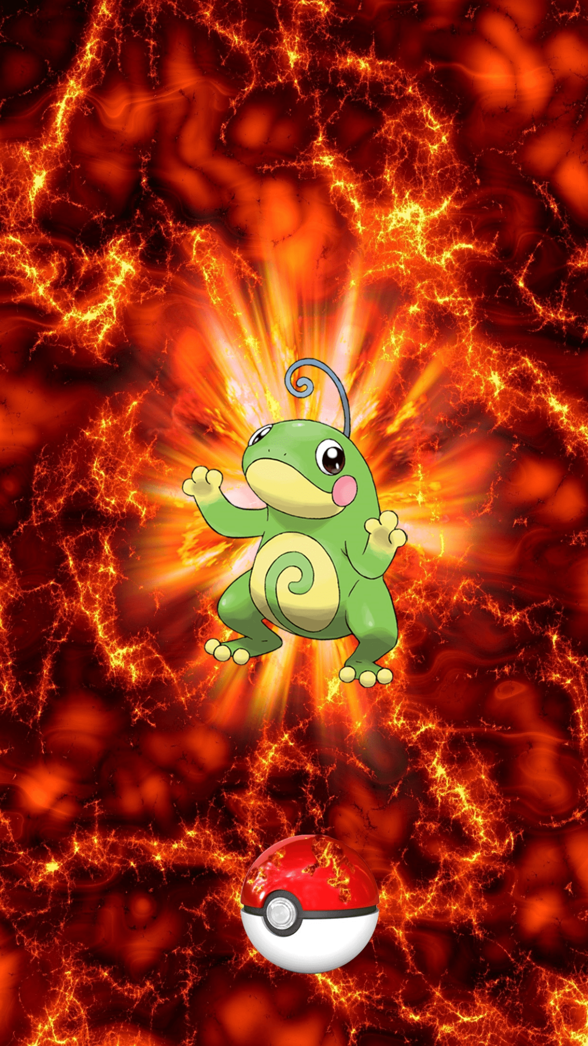 186 Fire Pokeball Politoed Unknown Poliwhirl | Wallpaper