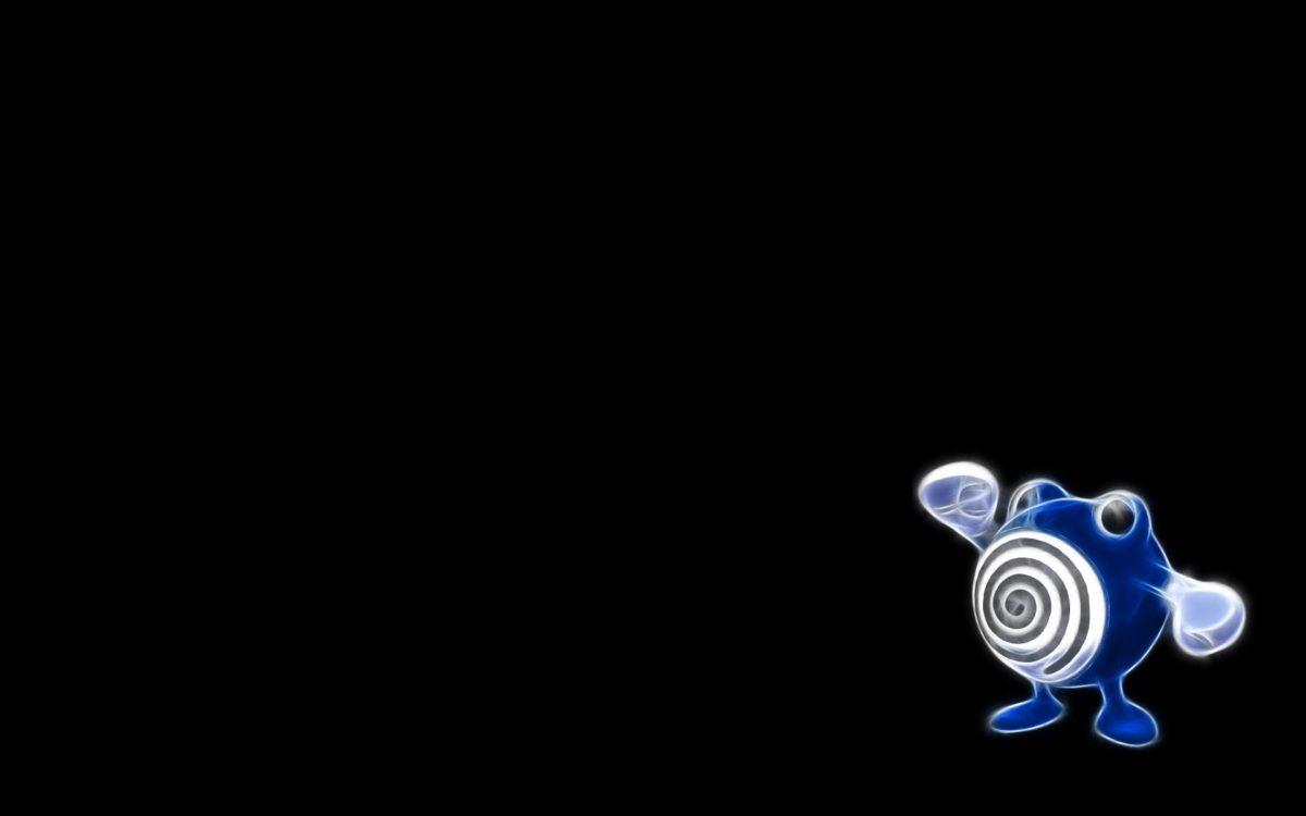 Poliwhirl, Minimalism, Black Background wallpaper | anime …