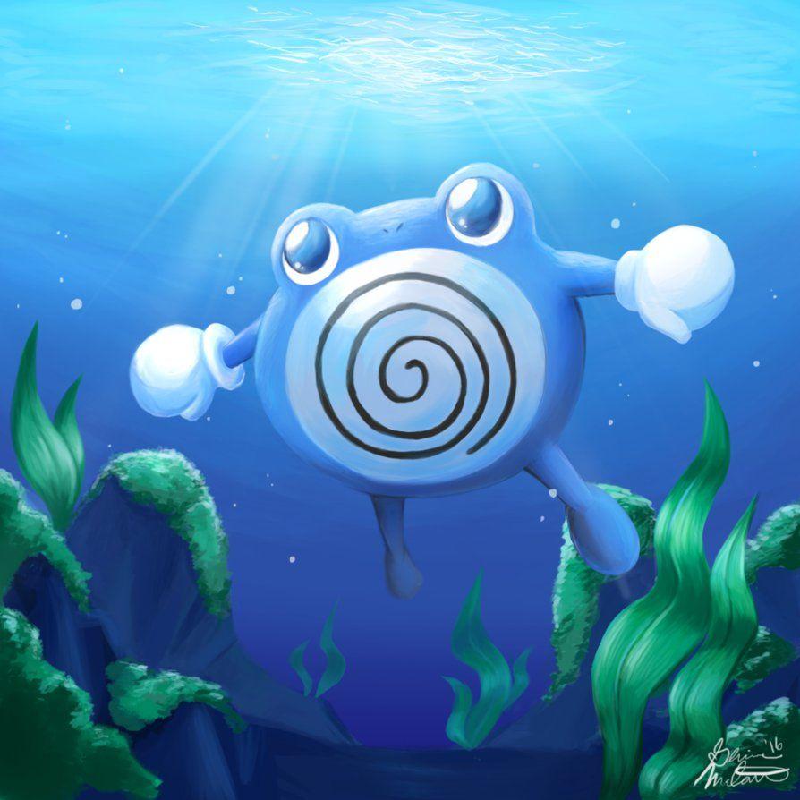 Poliwhirl Underwater Adeventure by PokuriMio on DeviantArt