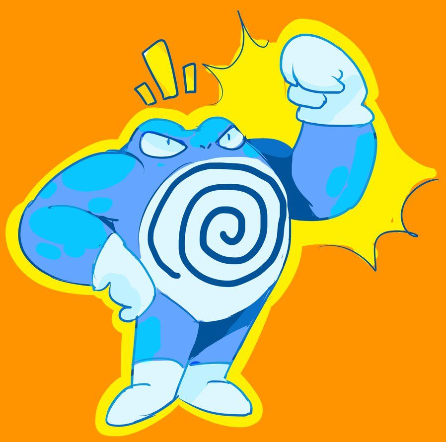 Poliwrath by Ropnolc on DeviantArt