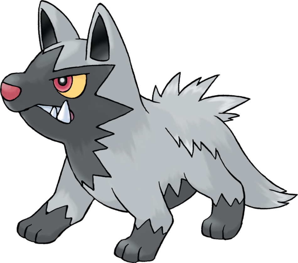 Pokemon Poochyena by Sonicthehedgefox345 on DeviantArt