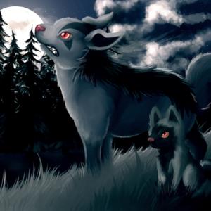 download Cold night by Eksploud.deviantart.com on @deviantART (Mightyena …