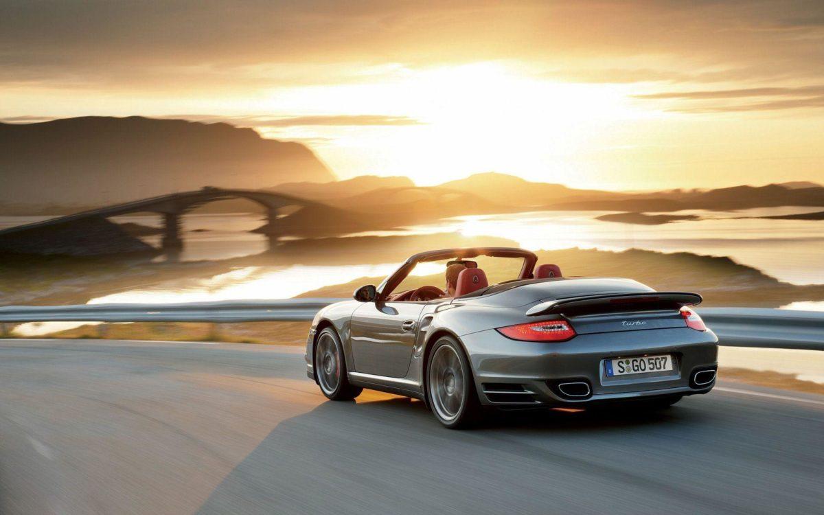 Porsche 911 Turbo Cabriolet wallpaper – 394945
