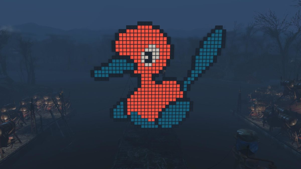 I made my favorite Pokemon with lightboxes — Porygon 2 : fo4