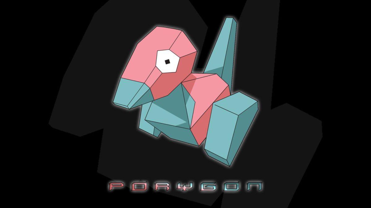 Porygon Pokemon – WallDevil