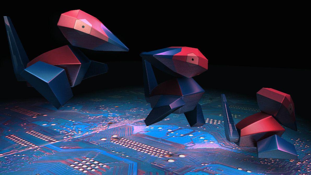 Porygon Polygon by Pyrofish on DeviantArt