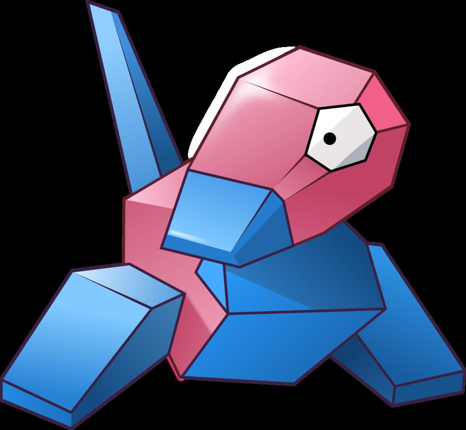 Porygon vector by UmbraVivens on DeviantArt