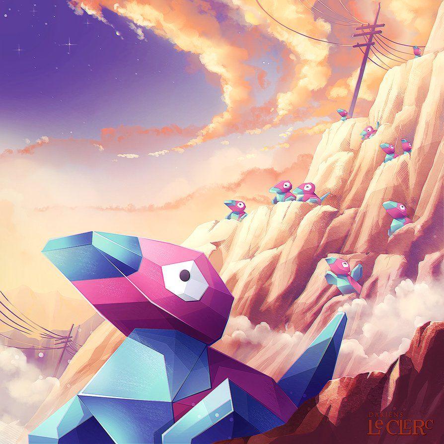 Pokemon Porygon by Magochocobo on DeviantArt