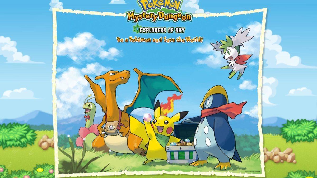 Pokemon pikachu front charizard meganium shaymin prinplup wallpaper …