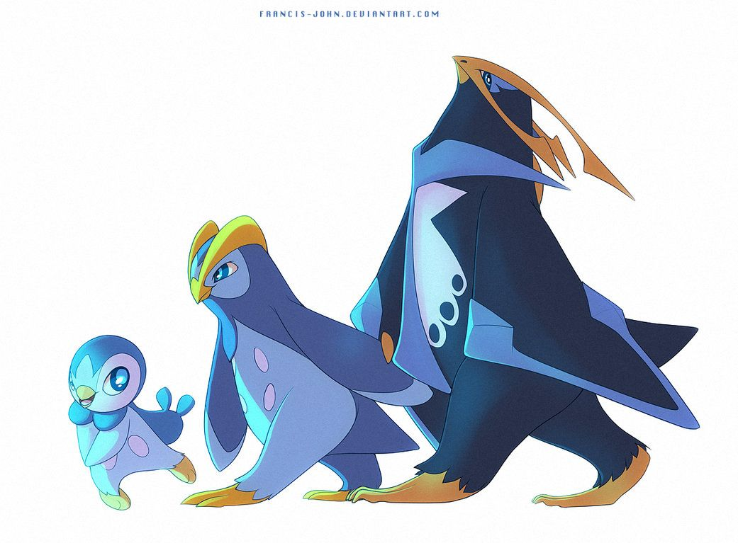 Piplup Prinplup and Empoleon by francis-john on DeviantArt