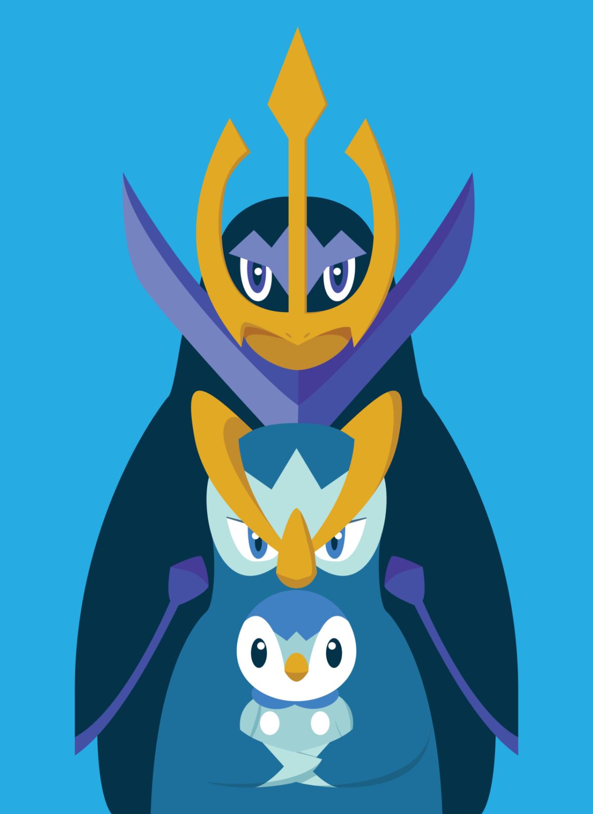 Piplup – Prinplup – Empoleon #393 – #395 evolutions | Pokemon …