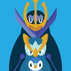 download Piplup – Prinplup – Empoleon #393 – #395 evolutions | Pokemon …