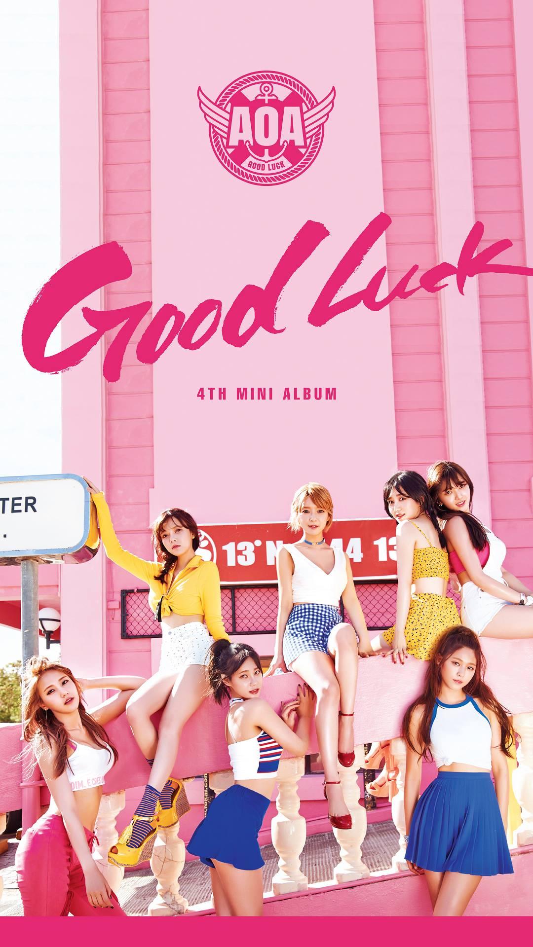 Photo )) AOA Good Luck Mobile WallPapers • Kpopmap