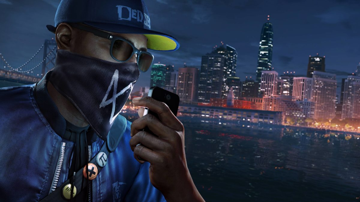 Wallpaper Watch Dogs 2, Marcus Holloway, PS4 Pro, 4K, Games, #3802