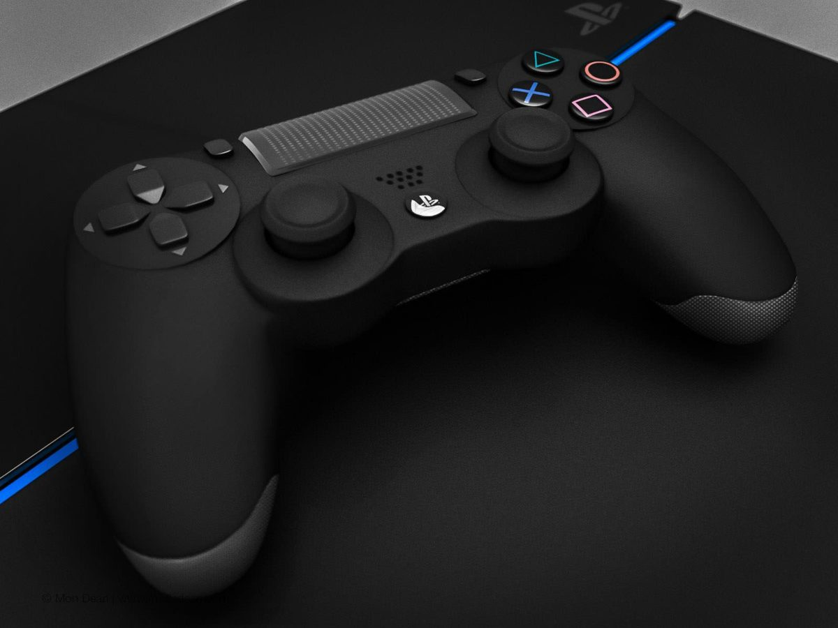 3D model Playstation 4 Console with Controller and Docking Station …