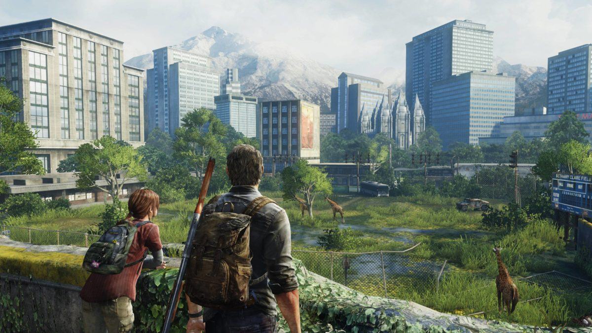 Wallpaper The Last of Us, Remastered, PS4 Pro, Joel, Ellie, Games, #3785
