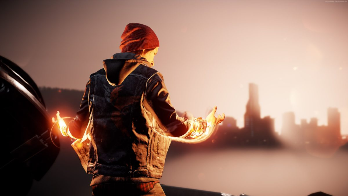 Wallpaper Infamous: Second Son, First Light, PS4 pro, Games #12475