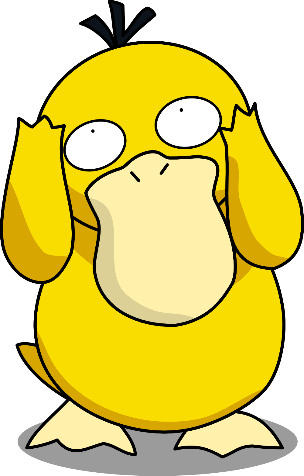 Silly Psyduck by Mighty355 on DeviantArt