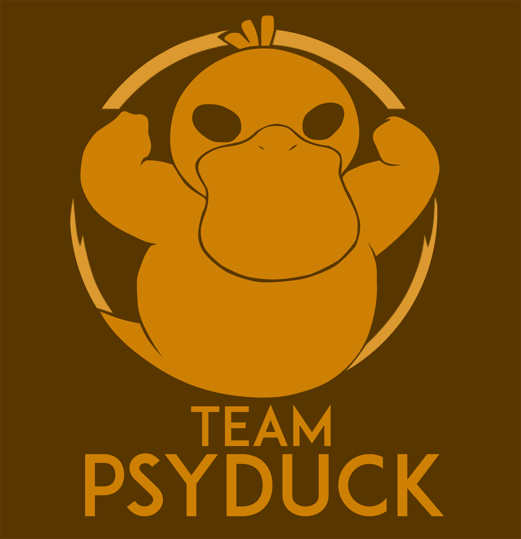 Team Psyduck by Alterei on DeviantArt