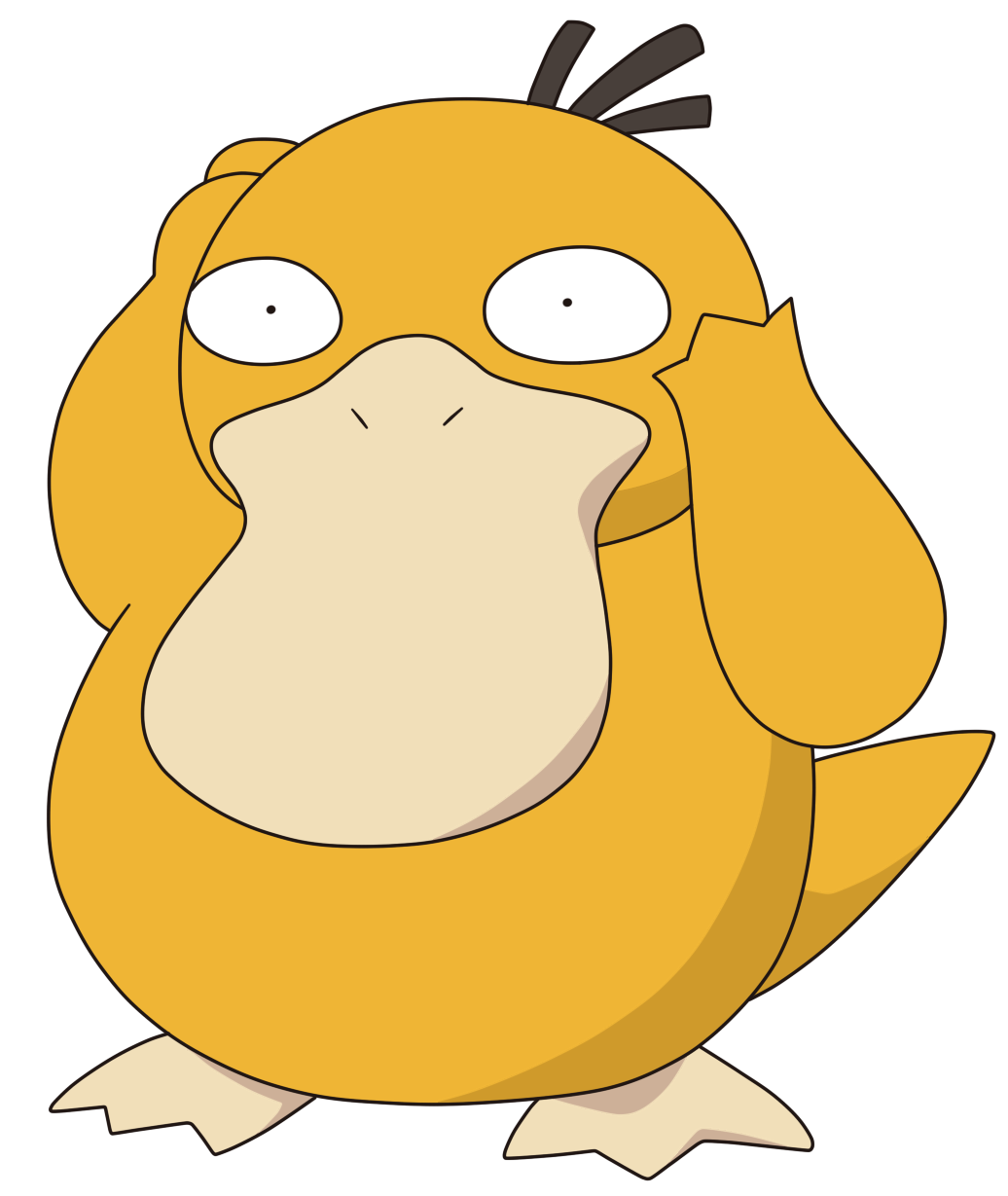 054-Psyduck by Tzblacktd on DeviantArt