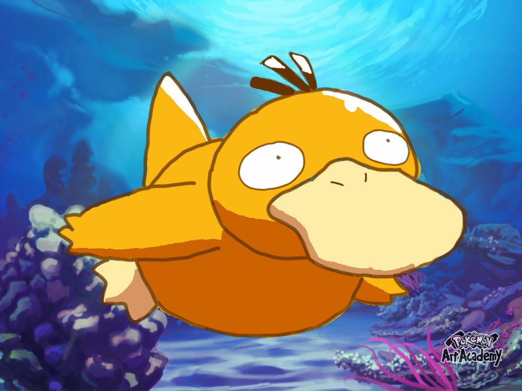 Psyduck Wallpaper by Luiskoa — Fur Affinity [dot] net