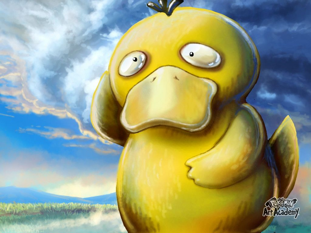 Psyduck Pokemon Art Academy by tcrfelton on DeviantArt