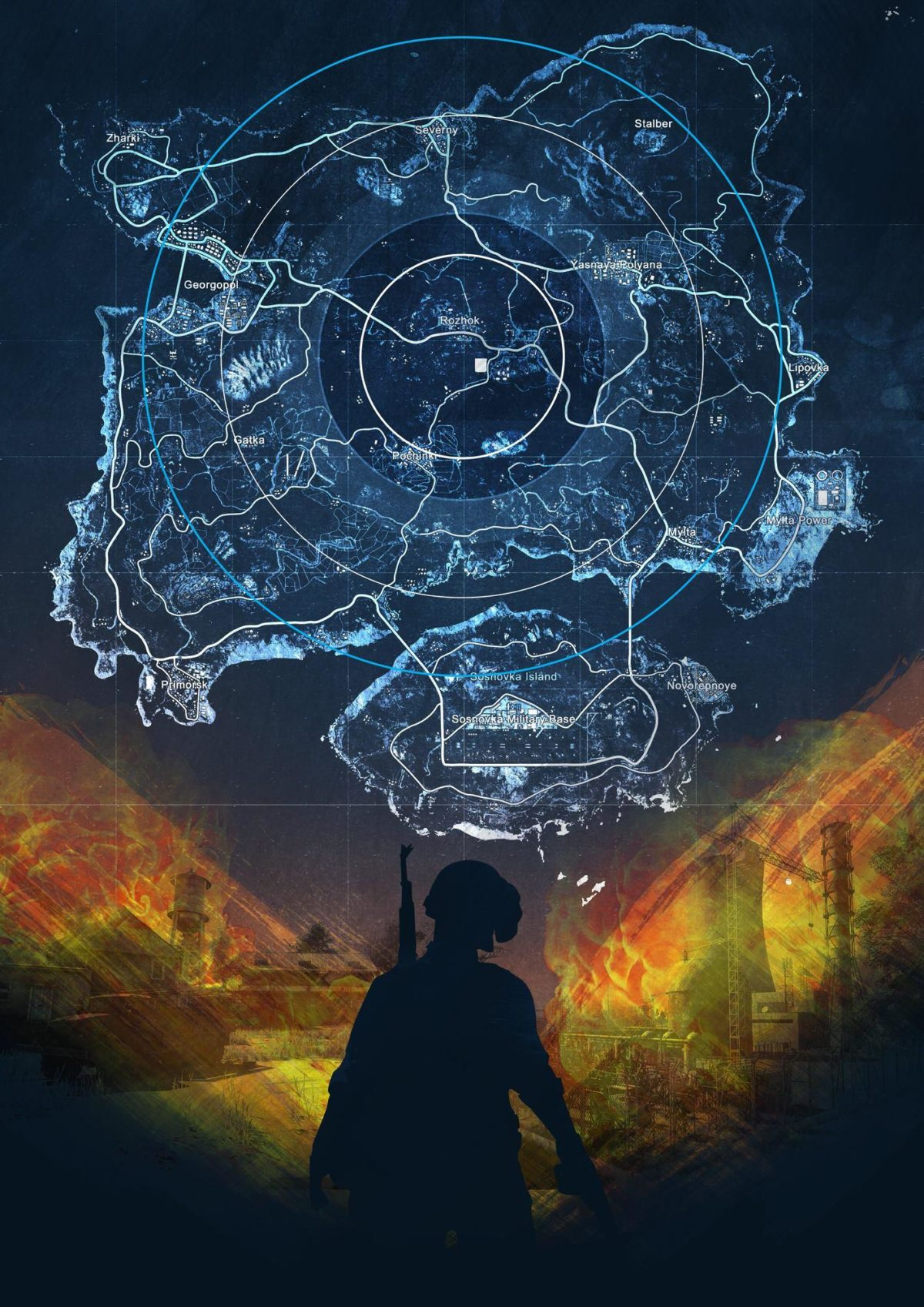 Battlegrounds map wallpaper for your phone – Album on Imgur