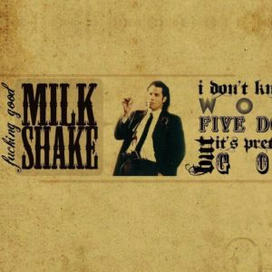 download Pulp Fiction Typography [1366×768] | | Wallpaper 1366×768