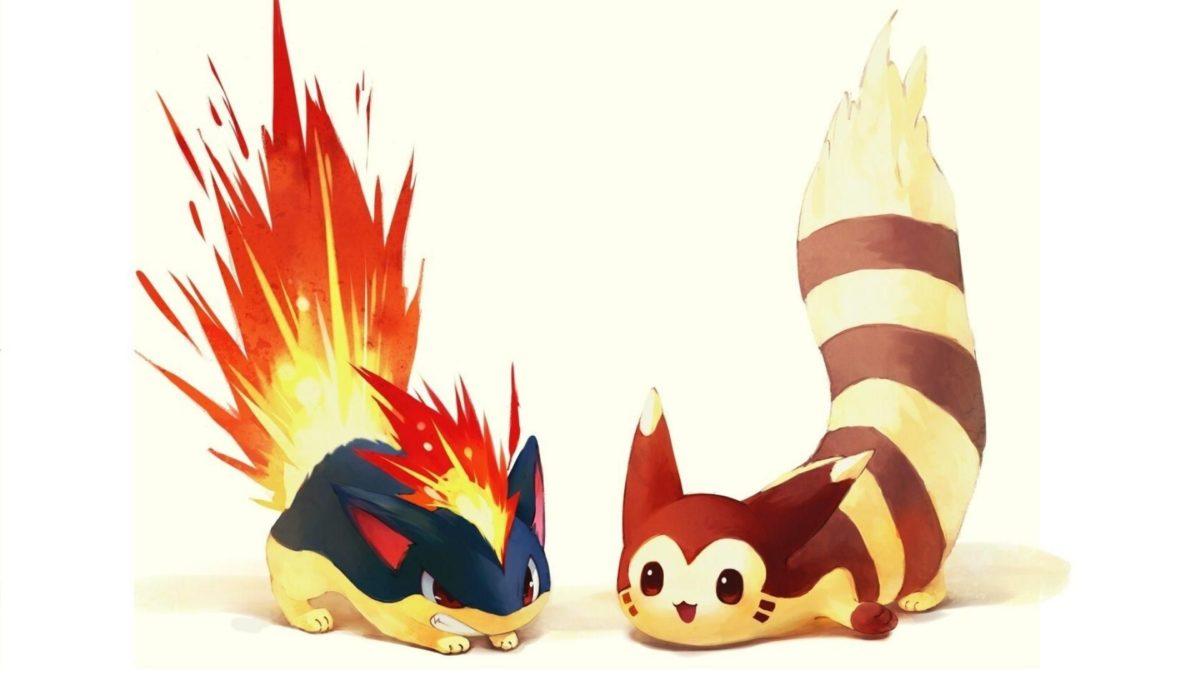 Pokemon fire artwork typhlosion quilava wallpaper | (125634)