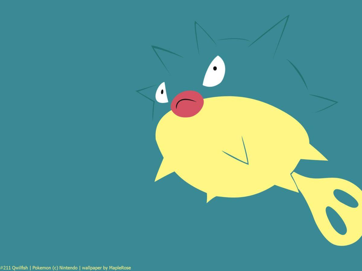 211 Qwilfish | PokéWalls