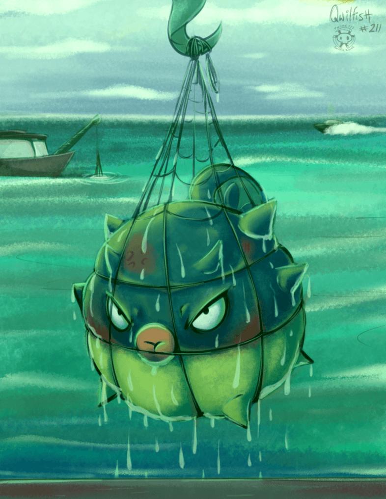 Qwilfish | Pokemon | Pinterest | Pokémon, Pokemon fan art and …