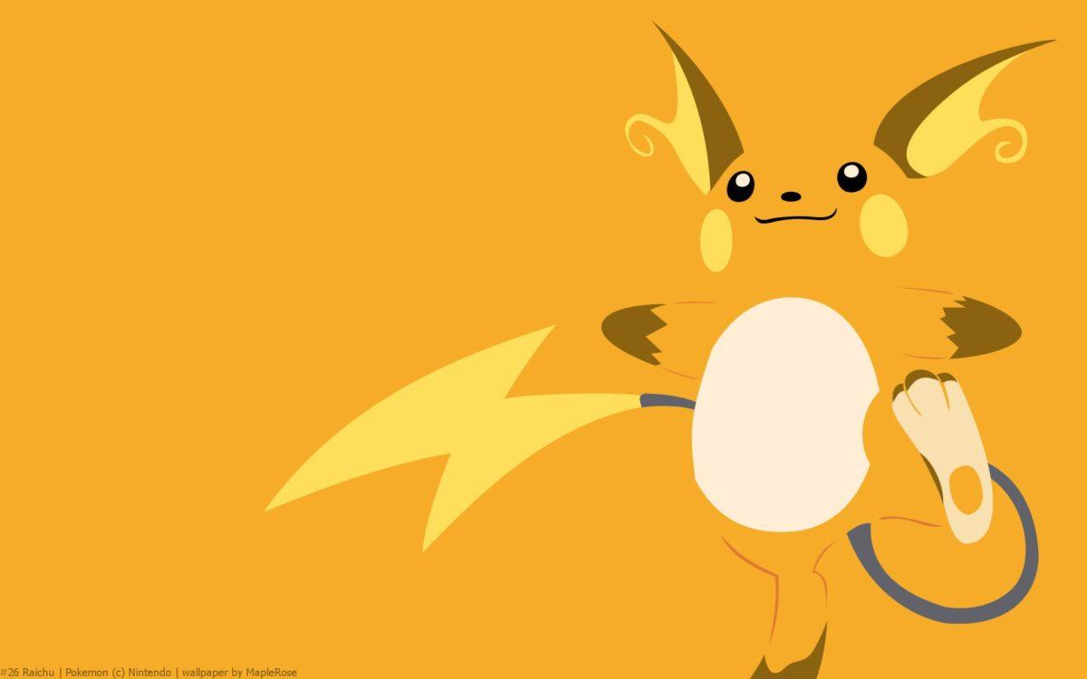 Raichu Pokemon HD Wallpaper – Free HD wallpapers, Iphone, Samsung …