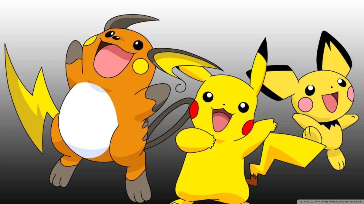 Pokemon Raichu ❤ 4K HD Desktop Wallpaper for 4K Ultra HD TV