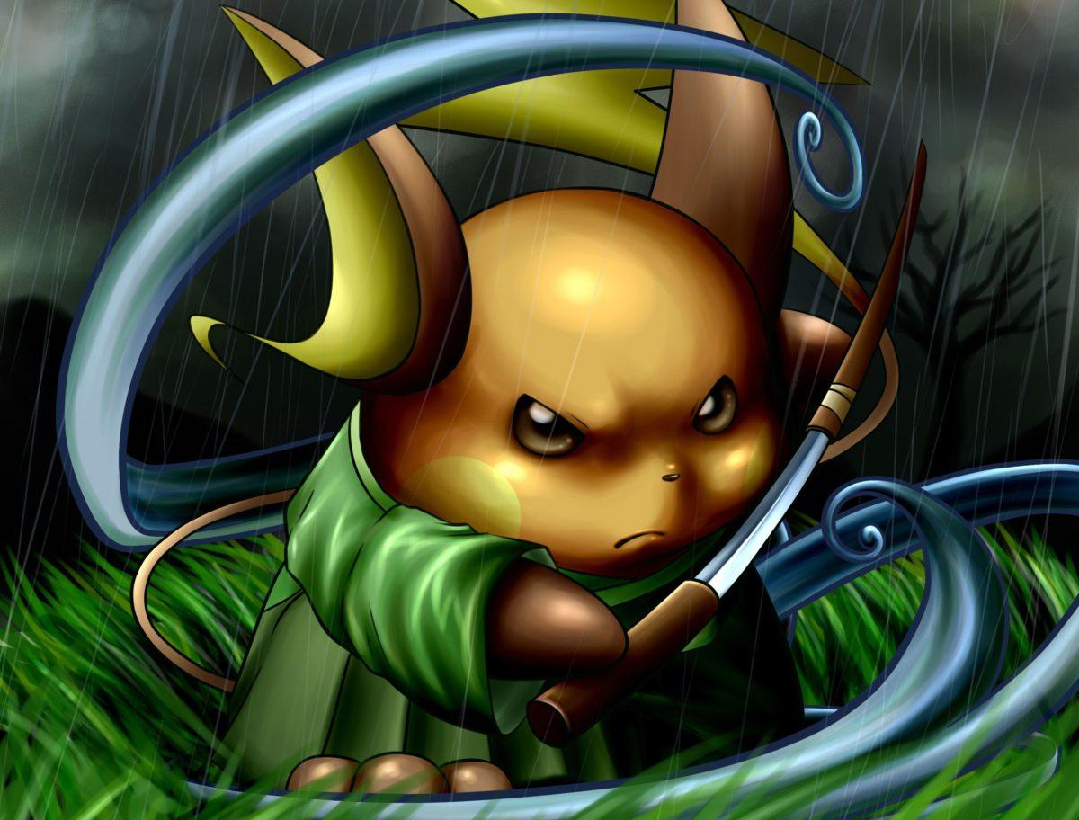 Pokemon Raichu wallpaper | 2480×1885 | 142925 | WallpaperUP