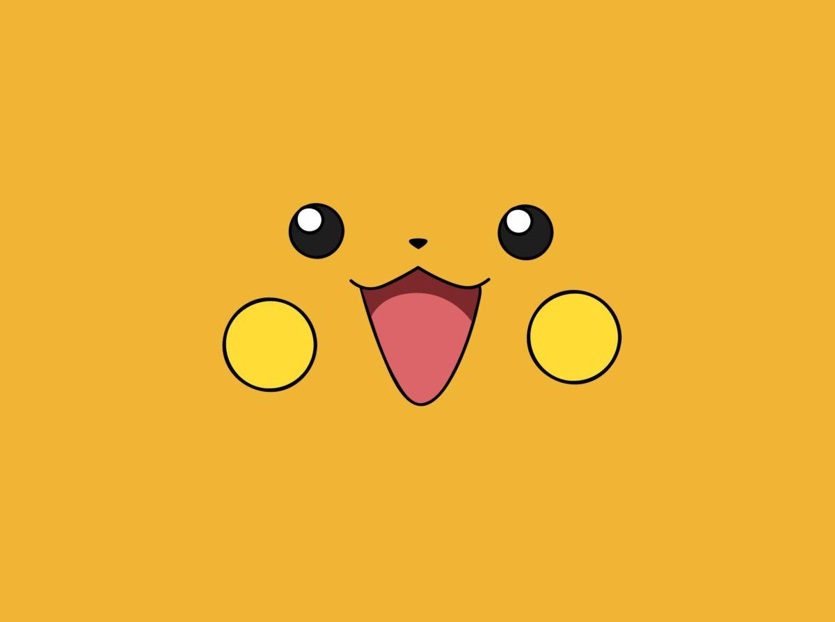 pokemon yellow raichu anime faces simple 3317×2474 wallpaper High …