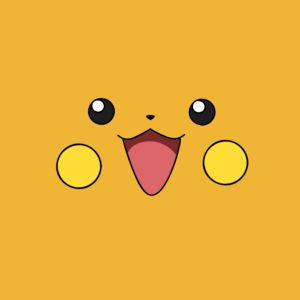 download pokemon yellow raichu anime faces simple 3317×2474 wallpaper High …