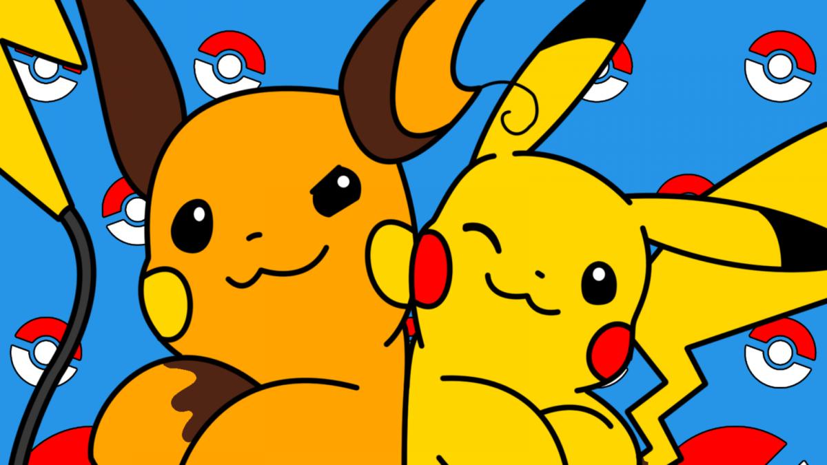 ScreenHeaven: Pikachu Pokemon Raichu desktop and mobile background