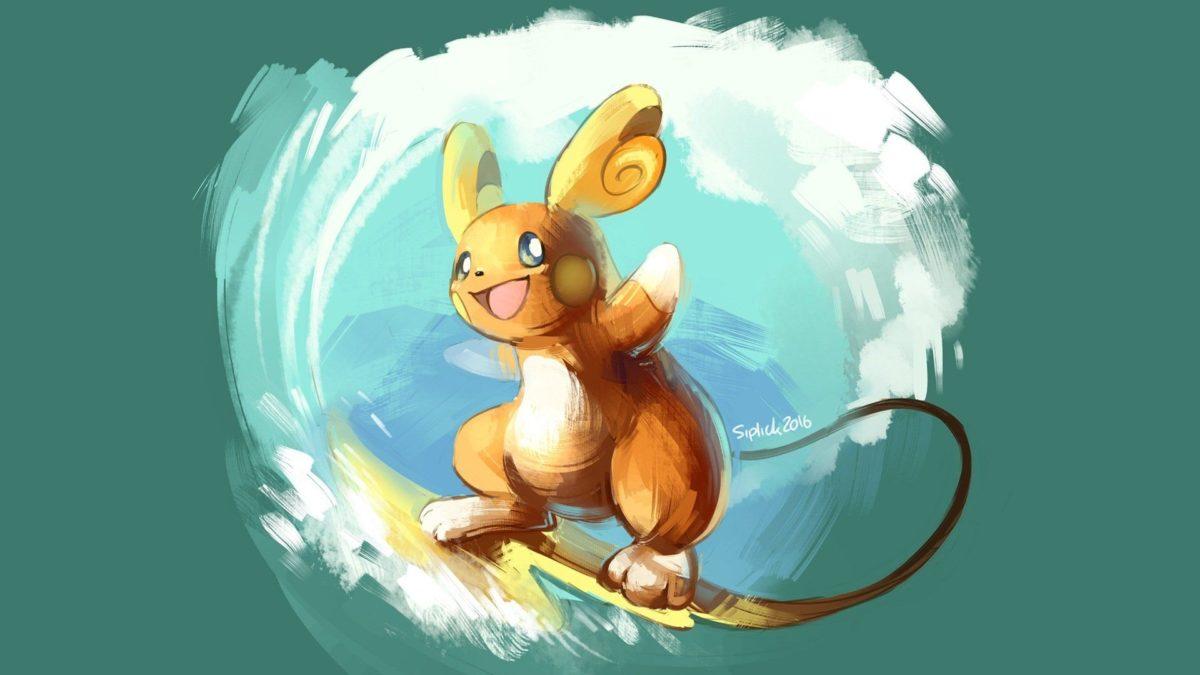 Raichu Alola Pokemon – WallDevil