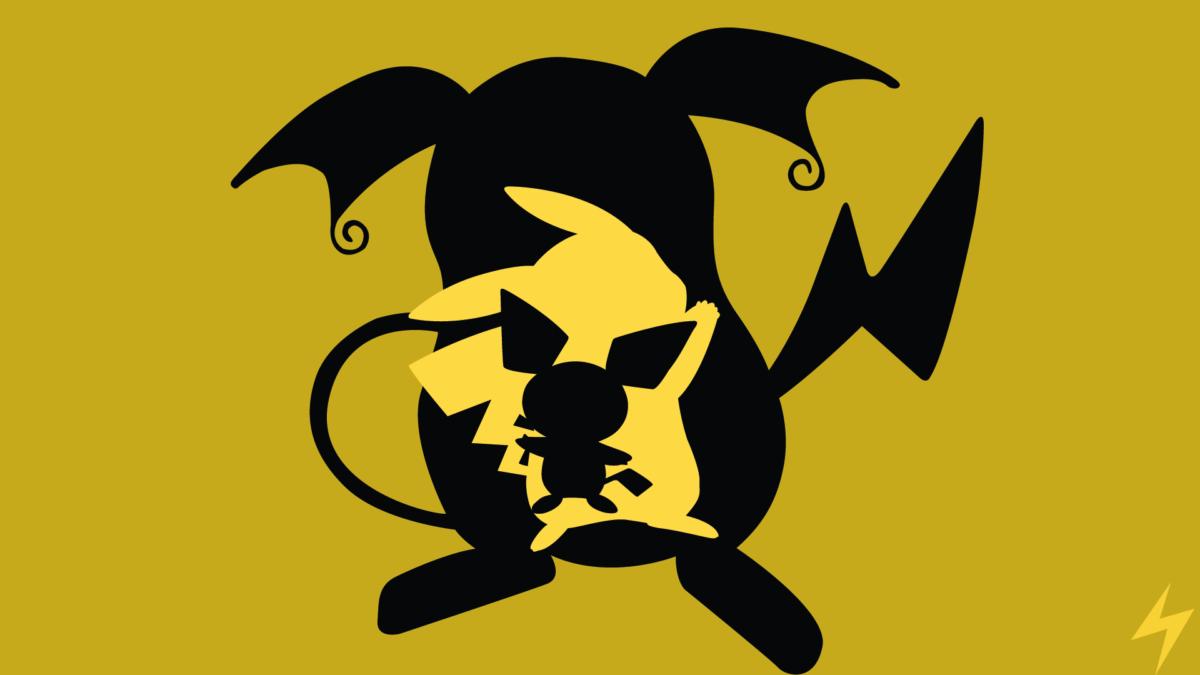 Raichu Evolution Line Minimalism by PikachuIsUber on DeviantArt