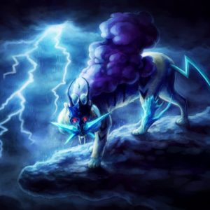 download 18 Raikou (Pokémon) HD Wallpapers | Background Images – Wallpaper Abyss