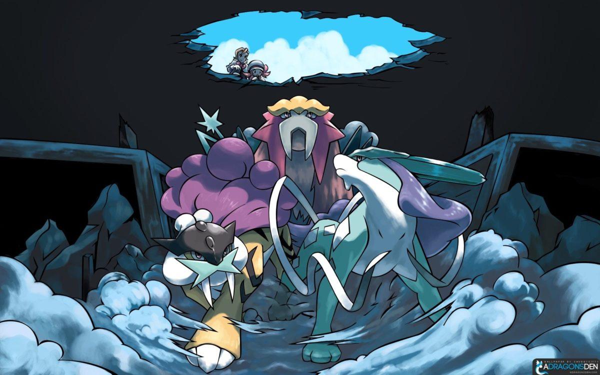 pokemon anime entei suicune raikou 1920×1200 wallpaper High Quality …